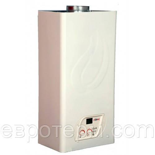 Настенный газовый котел Optima + АГД -24-В-М   Двухконтурный дымоходный с раздельными теплообменниками