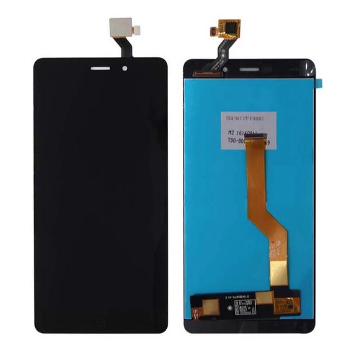 Тачскрін з екраном (Модуль) для Elephone P9000 Чорний