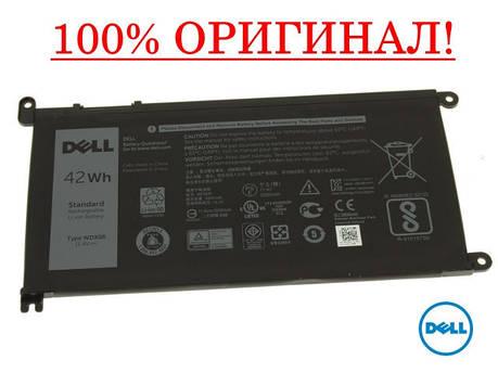 Оригинальная батарея Dell Vostro 5468, 5568 - WDX0R, WDXOR (11.4V 42Wh) - Аккумулятор, АКБ, фото 2