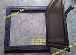 Дверцята під коптилку металева (480х480) мангал, барбекю, фото 3