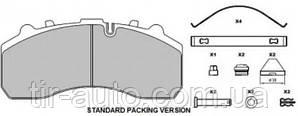 Тормозные колодки GRANTEX (WVA 29087 / WVA 29108)