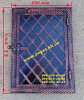 Дверка под коптилку металлическая №4 (400х600), фото 1