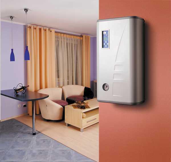 Электрический котел с нагревательным элементом для отопления квартиры