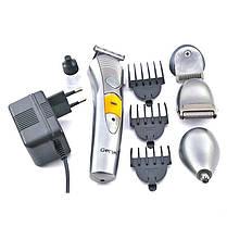 Электробритва триммер Gemei GM 580 4 в 1 машинка для стрижки (набор для стрижки волос и бороды), фото 2