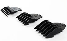 Электробритва триммер Gemei GM 580 4 в 1 машинка для стрижки (набор для стрижки волос и бороды), фото 3