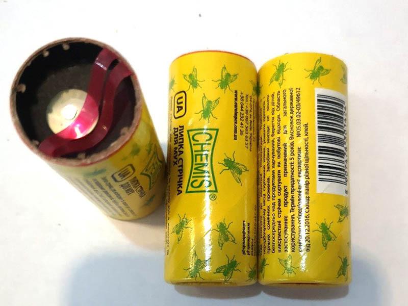 Липкая лента от мух в ассортименте (10шт)