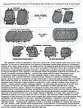 Авточехлы ВАЗ Lada Granta 2190 2011- EMC Elegant, фото 9