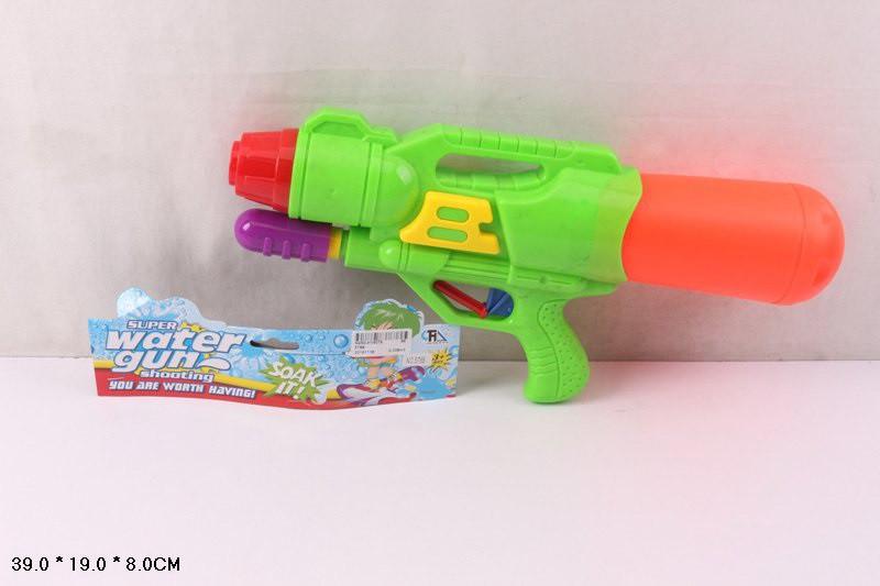 Водяна зброя (водный пистолет) 5788 (96шт/2) з насосом, в пакеті 39*19*8 см