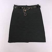 Юбка школьная черная на девочку 6, 10, 12, 14 лет