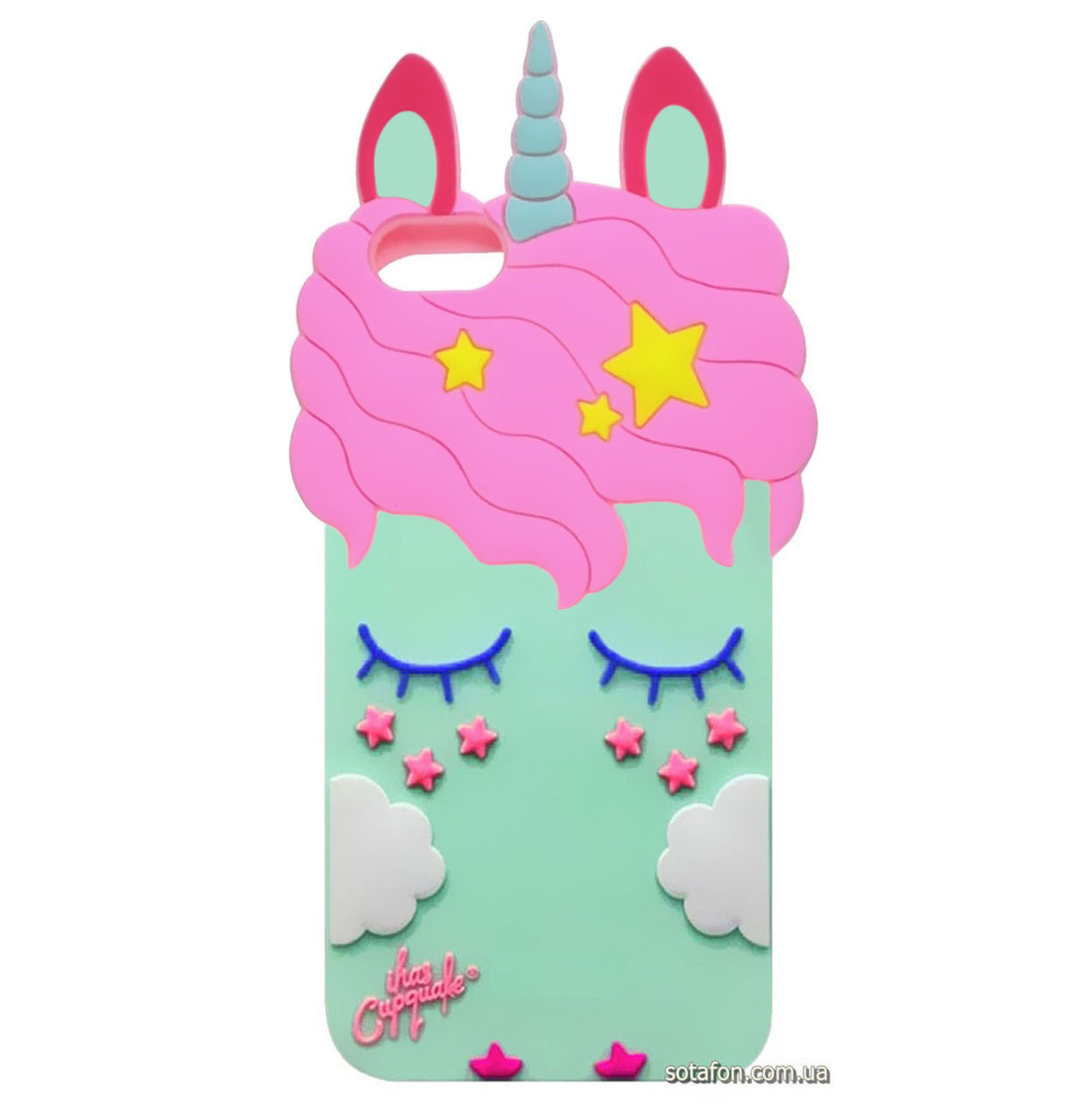 Чехол-накладка TPU 3D Little Unicorn для Xiaomi Redmi Go Munt
