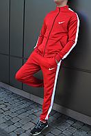 Мужской спортивный костюм найк в стиле с лампасами