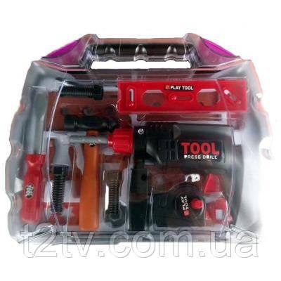 Игровой набор Tool Set инструменты - подарочный набор 19 шт (KY1068-122)