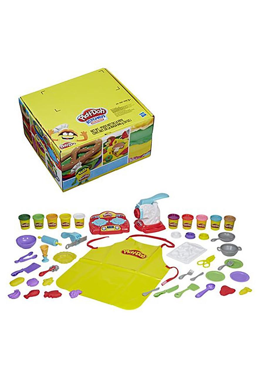 Набор для творчества Плей-До Шеф повар Play-Doh Kitchen Creations Super Chef Suite