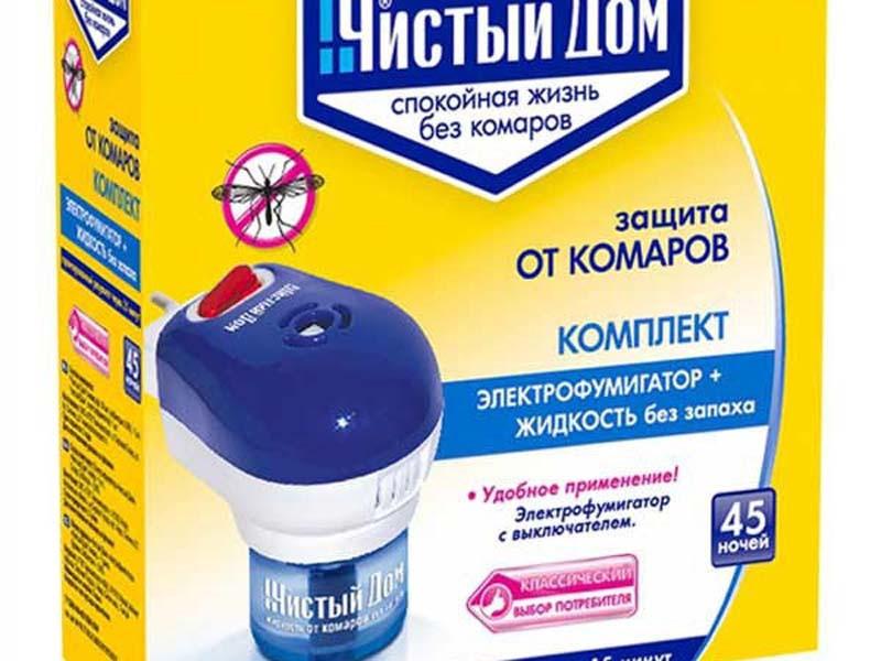 Набор от комаров фумигатор, жидкость (в ассортименте)