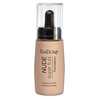 Тональный крем-флюид - IsaDora Nude Super Fluid Foundation (Оригинал)