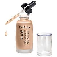 Тональный крем-флюид - IsaDora Nude Super Fluid Foundation (Оригинал)  № 18 Honey