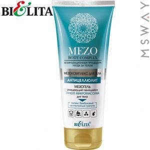 Bielita - Mezo Body Антицеллюлит Мезогель очищающий пенящийся Эффект микромассажа 200ml, фото 2