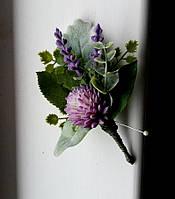 Свадебный бутоньерка, фото 1