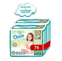 Підгузники Dada Extra Soft 6 (16+ кг) 76 шт., фото 1