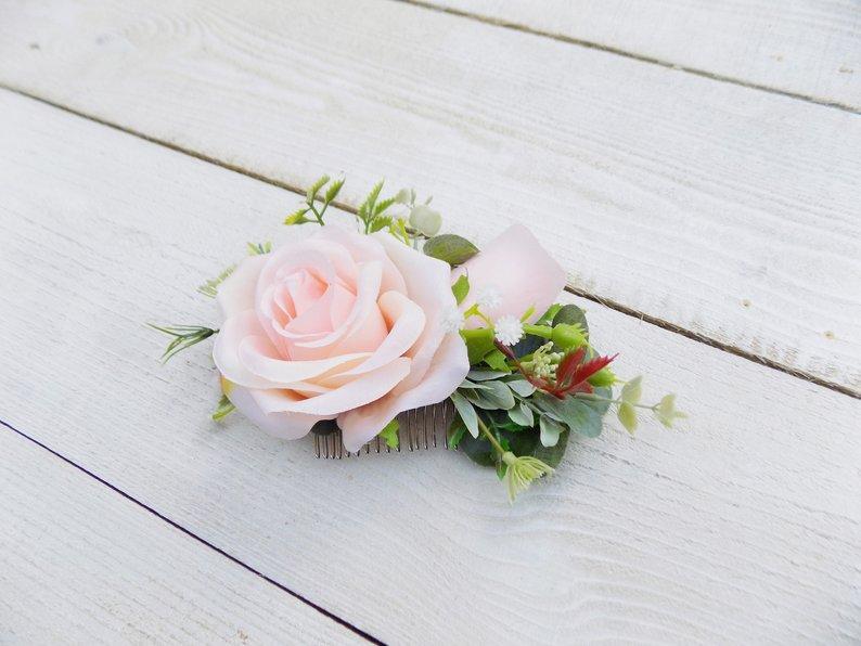 Свадебный гребешок для прически
