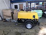 Дизельный компрессор для пескоструйного аппарата - пескоструйной очистки, фото 4
