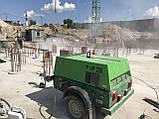 Дизельный компрессор для пескоструйного аппарата - пескоструйной очистки, фото 3