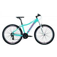 "Велосипед Leon 26"" HT-LADY AM Vbr рама-16"" 2019 бирюзовый (OPS-LN-26-042)"