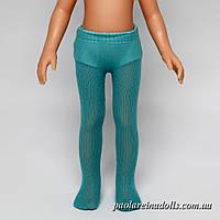 Колготки бирюзовые для кукол Паола Рейна