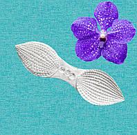 Силиконовый вайнер лепестки Орхидеи ванда. VS-08
