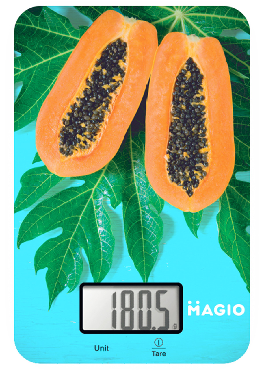 Электронные кухонные весы до 5кг MAGIO MG-790 (стекло)