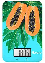 Електронні кухонні ваги до 5кг MAGIO MG-790 (скло)