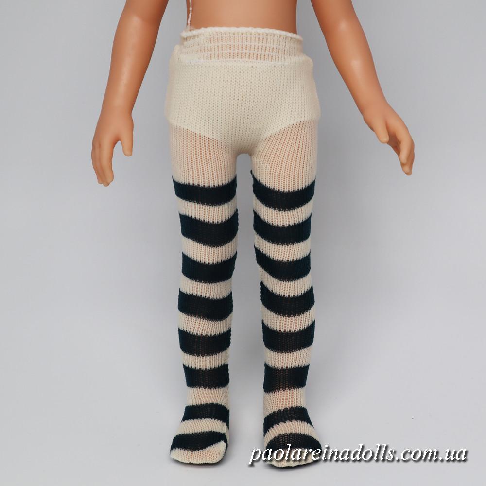 Колготки полосатые для кукол Паола Рейна
