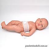 Большой Пупс Мальчик младенец Bebito Paola Reina 45 см, фото 3