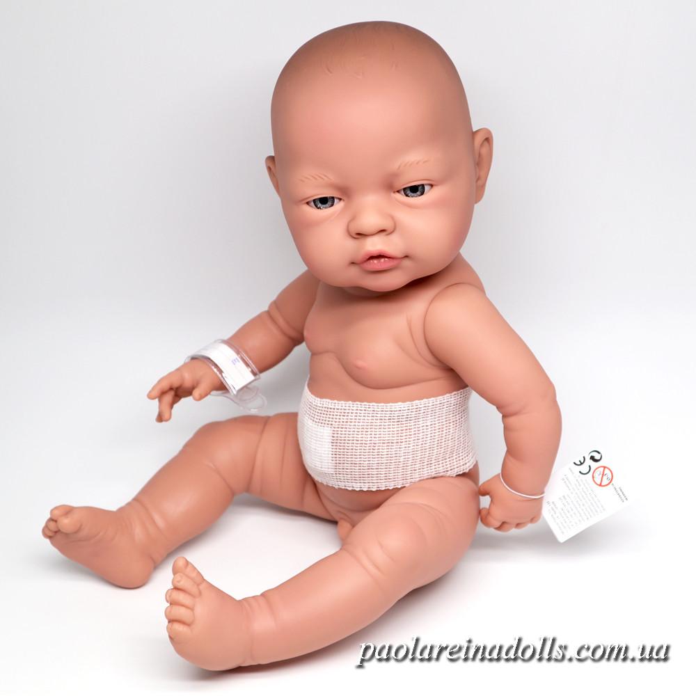 Большой Пупс Мальчик младенец Bebito Paola Reina 45 см