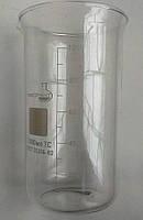 Стакан мірний В-1-1000 МС (високий з носиком) зі шкалою V-1000 мл ГОСТ 25336-82 з термічно стійкого скла