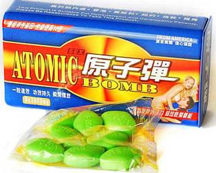 """Таблетки для потенции """"Атомная бомба / Atomic Bomb"""" (10 таблеток)"""