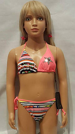 Купальник для подростков RIVAGE LINE 1053  Звезда персиковый  (есть 6/8/10/12/14 лет размеры), фото 2