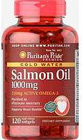 Puritan's Pride Salmon Oil 1000mg 120 softgels