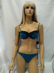 Купальник Z.FIVE  бандо 2005 ВитАлика изумрудный    (есть  42 44 46 48   размеры) 42 (ОБ-90-95 см)