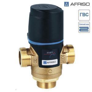 """Термостатический клапан Afriso ATM 761 G 1"""" DN 20 20-43°С (арт. 1276110)"""