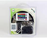 Комплект Светодиодная лента 3528 Многоцветная 5м + контроллер с пультом