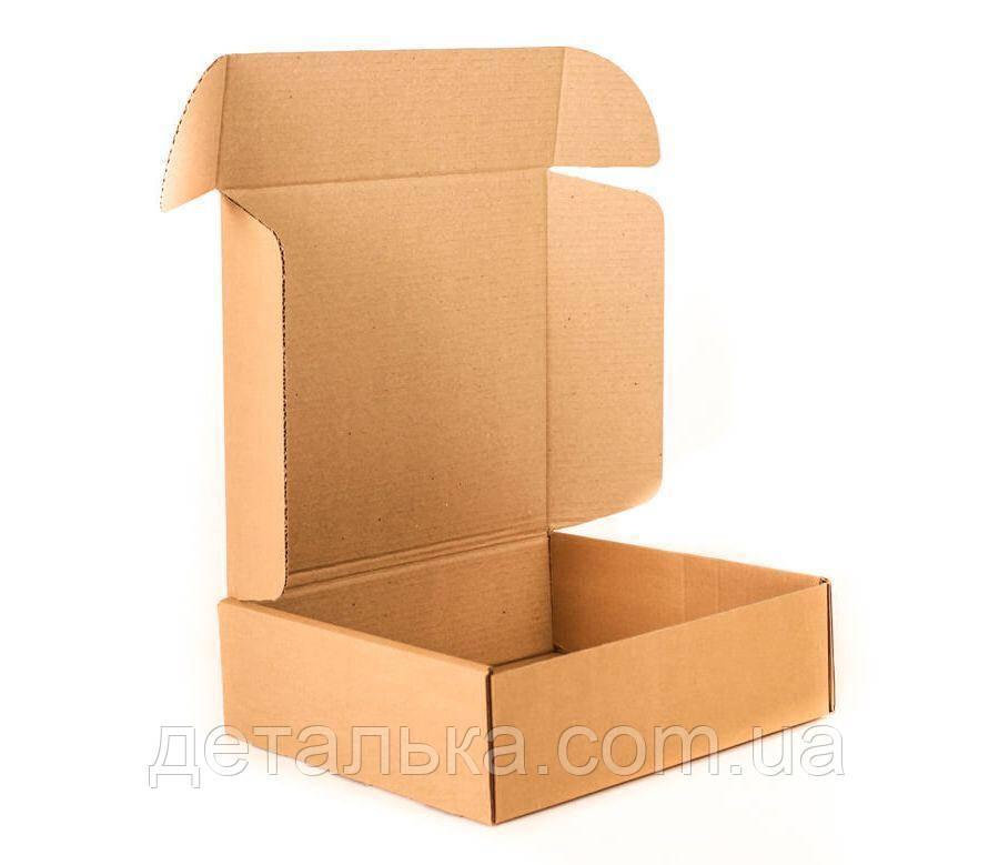 Самосборные картонные коробки 795*350*130 мм. с прорезными ручками