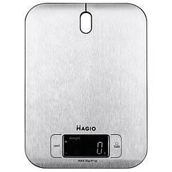 Електронні кухонні ваги 5кг MAGIO MG-793 (нержавійка)