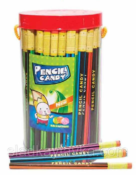 Карамель Карандаш Pencil Candy 100 шт (Китай)