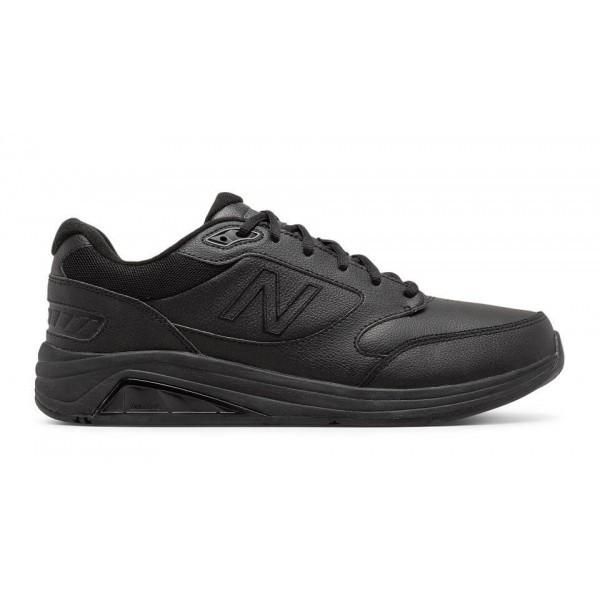 Оригинальные кроссовки (кеды) New Balance Leather 928v3 черная кожа, мужские 44
