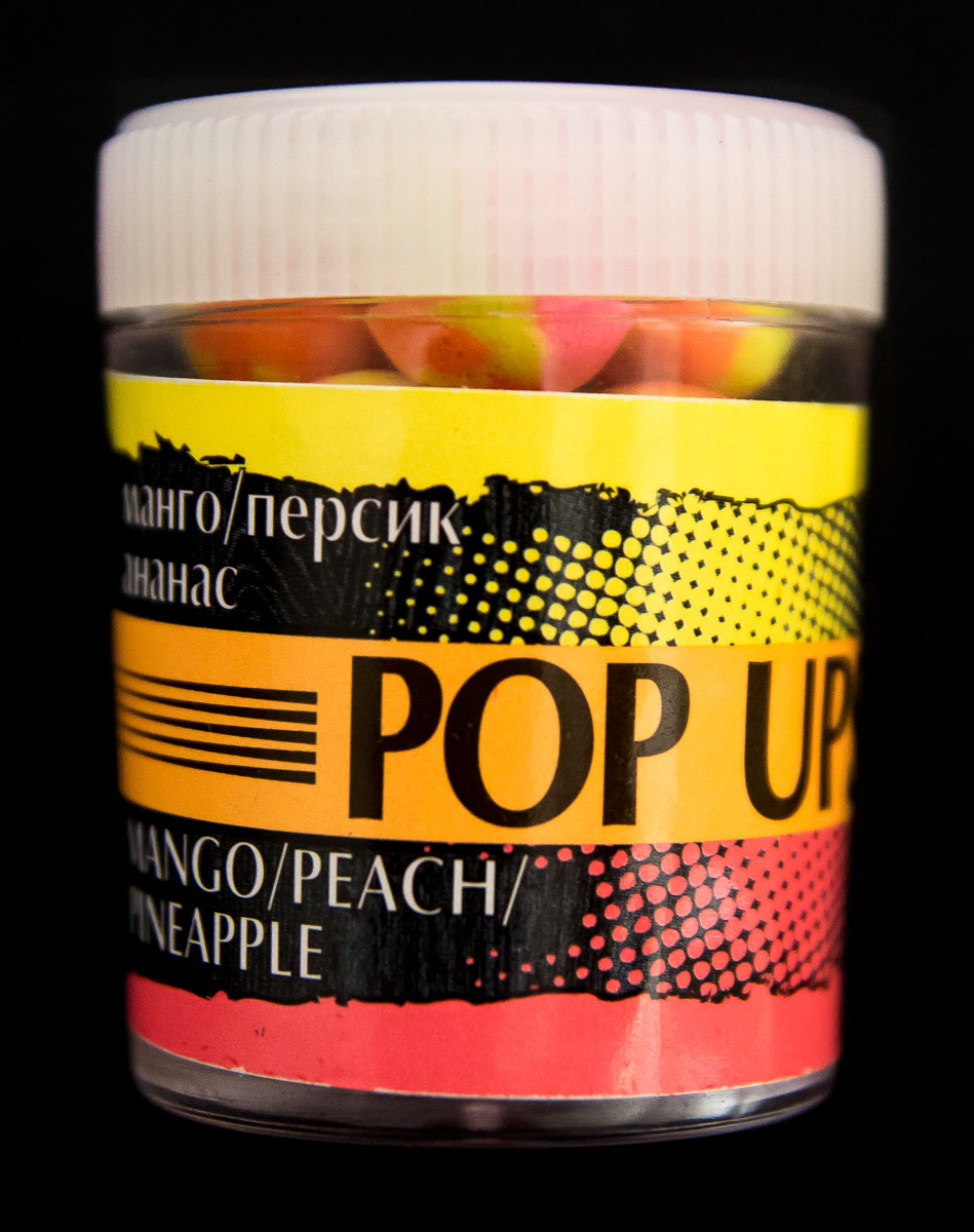 Бойлы POP UPS  Манго персик ананас  12mm