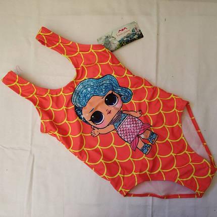 Купальник для девочек SAME GAME Мисс 834 коралл (есть 30 34  размеры), фото 2