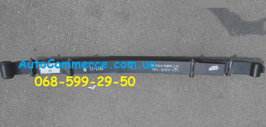 Рессора задняя с подрессорником Jac 1020 джак, фото 2