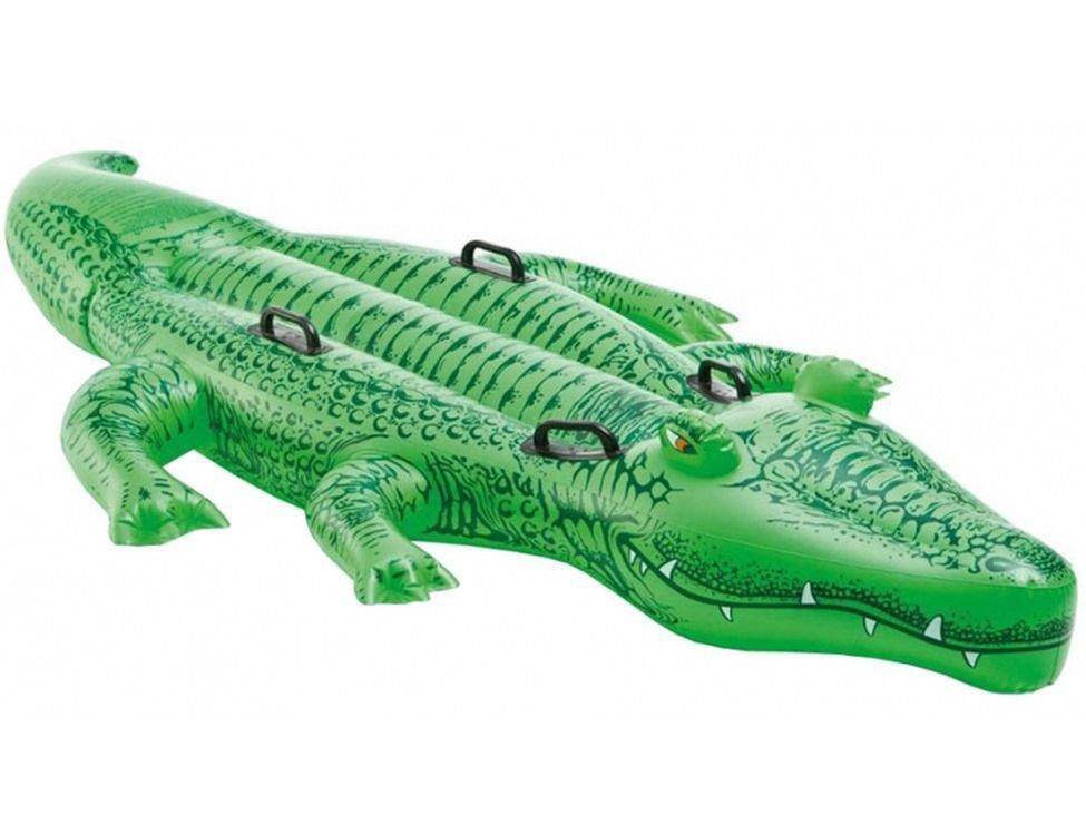 """Надувная игрушка для плавания """"Giant Gator Ride-On"""" Intex"""