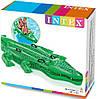 "Надувная игрушка для плавания ""Giant Gator Ride-On"" Intex, фото 4"
